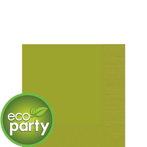 Eco-Friendly Avocado Beverage Napkins, 50-pk
