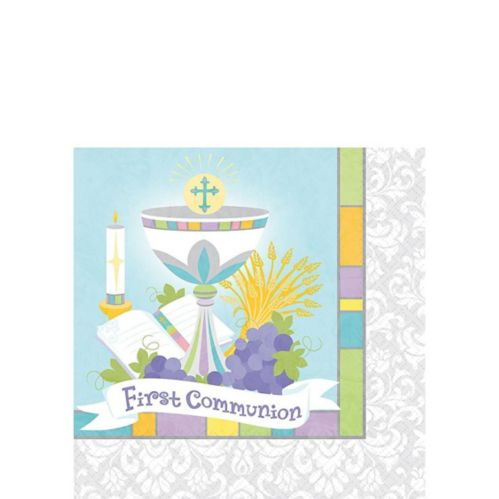 Joyous Communion Beverage Napkins, 36-pk