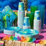 Serviettes de table pour boissons, détente marine, paq. 36