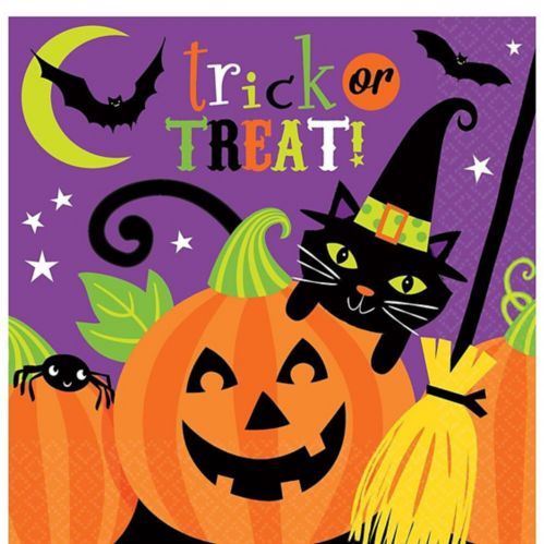 Witch's Crew Beverage Napkins, 36-pk