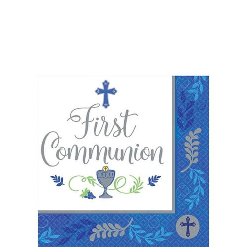 Kids' First Communion Beverage Napkins, 36-pk