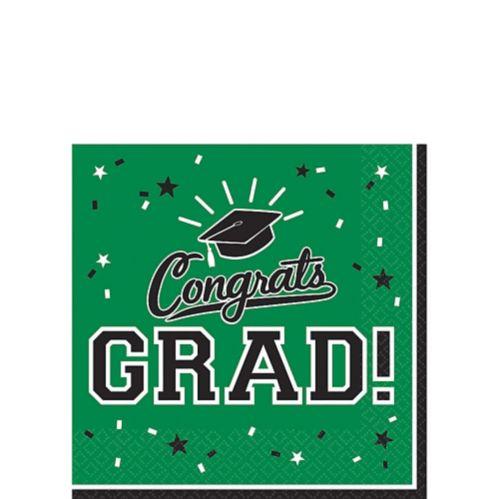 Serviettes à boissons Congrats Grad, paq. 36 Image de l'article