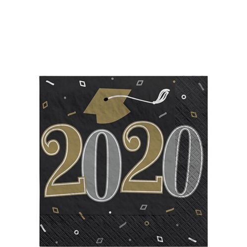 Well Done Class of 2020 Beverage Napkins, 36-pk