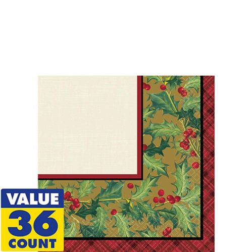 Winter Warmth Beverage Napkins, 36-pk Product image