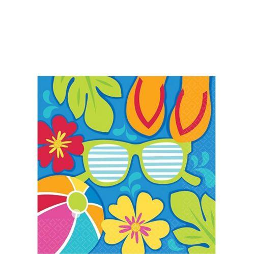 Summer Splash Beverage Napkins, 36-pk