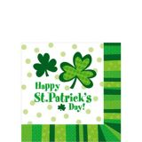 St. Patrick's Day Cheer Beverage Napkins, 125-pk