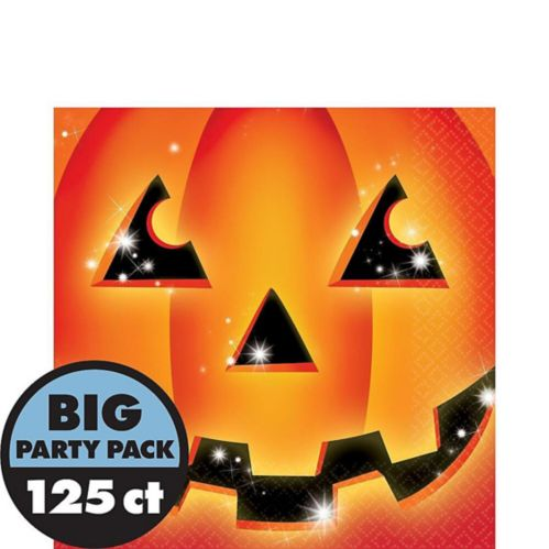 Perfect Pumpkin Lunch Napkins, 125-pk