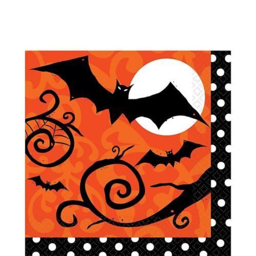 Serviettes de table Frightfully Fancy Halloween, paq. 36