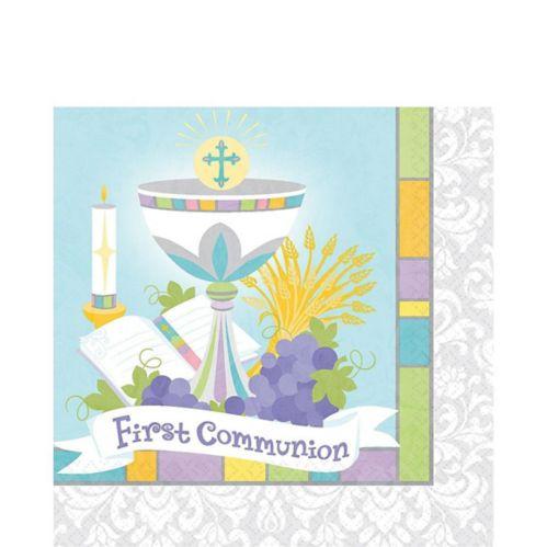 Joyous Communion Lunch Napkins, 36-pk