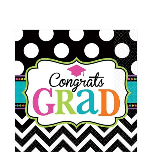 Dream Big Graduation Lunch Napkins, 125-pk