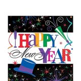 Ring in the Year New Year's Lunch Napkins, 125-pk