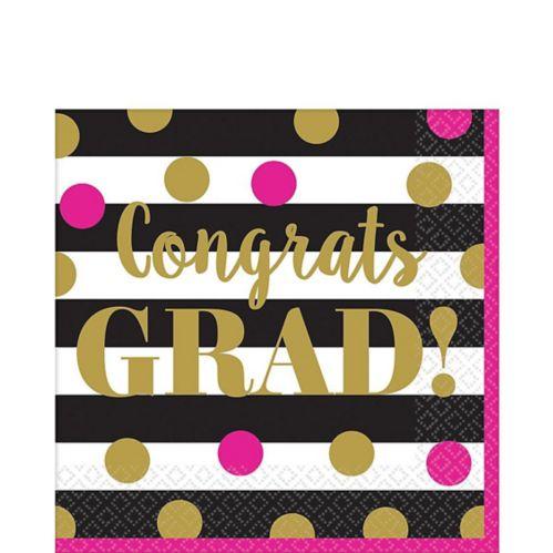 Serviettes de table Remise de diplôme, confettis, paq. 36 Image de l'article