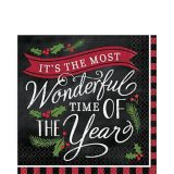 Most Wonderful Time Lunch Napkins, 36-pk