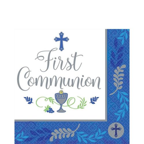 Kids' First Communion Lunch Napkins, 36-pk