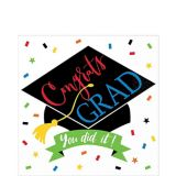You Did It Grad Lunch Napkins, 125-pk