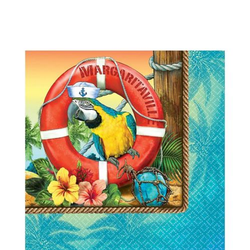 Margaritaville Lunch Napkins, 36-pk Product image