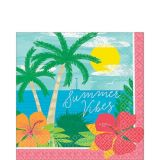 Summer Vibes Lunch Napkins, 125-pk