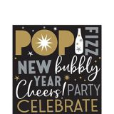 New Year's Eve Lunch Napkins, 125-pk