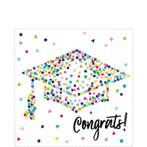 Yay Grad Lunch Napkins, 36-pk