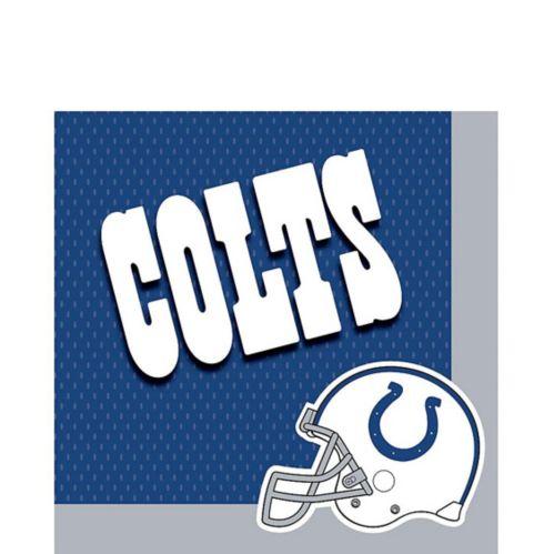 Serviettes de table Colts d'Indianapolis, paq. 36