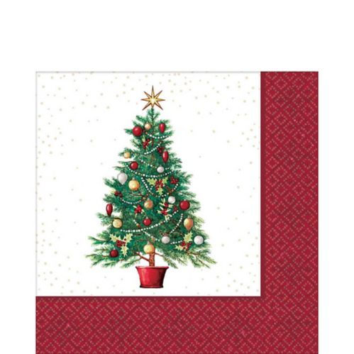 Big Party Pack Oh Christmas Tree Lunch Napkins, 125-pk
