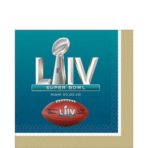 Super Bowl Lunch Napkins, 36-pk