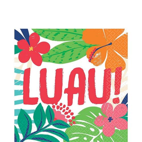 Tropical Jungle Lunch Napkins, 36-pk
