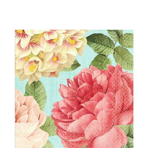 Blissful Blooms Lunch Napkins, 36-pk