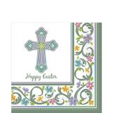 Happy Easter Blessed Day Lunch Napkin, 36-pk