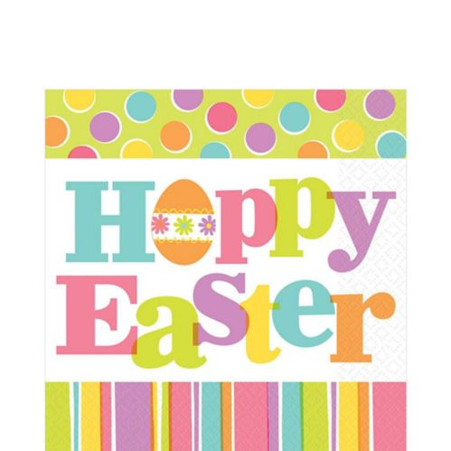 Easter Expressions Lunch Napkins, 36-pk