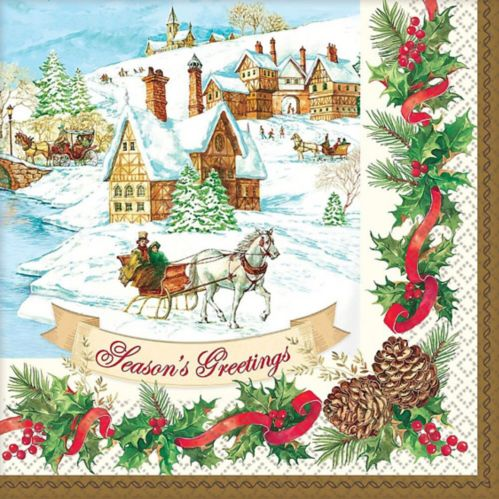 Holiday Magic Dinner Napkins, 36-pk