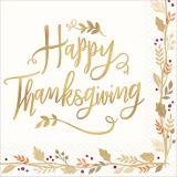 Happy Thanksgiving Dinner Napkins, 36-pk