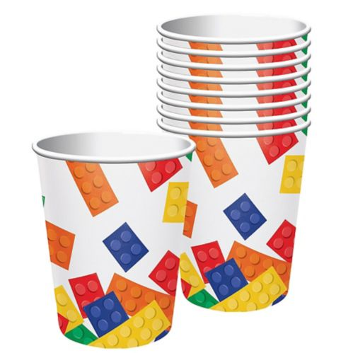Block Party Cups, 8-pk