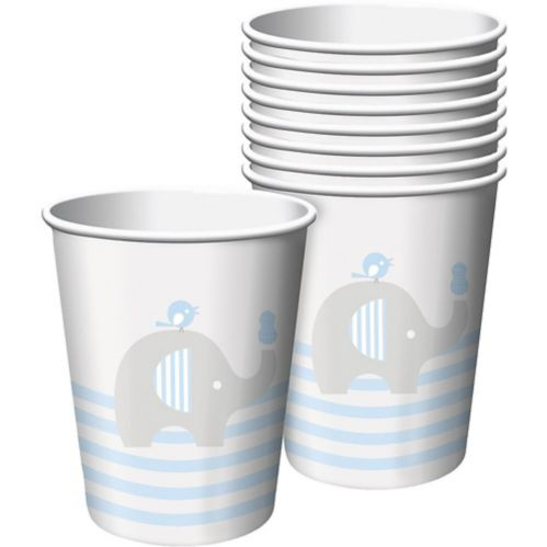 Baby Elephant Paper Cups, 8-pk