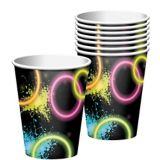 Neon Party Paper Cups, 8-pk