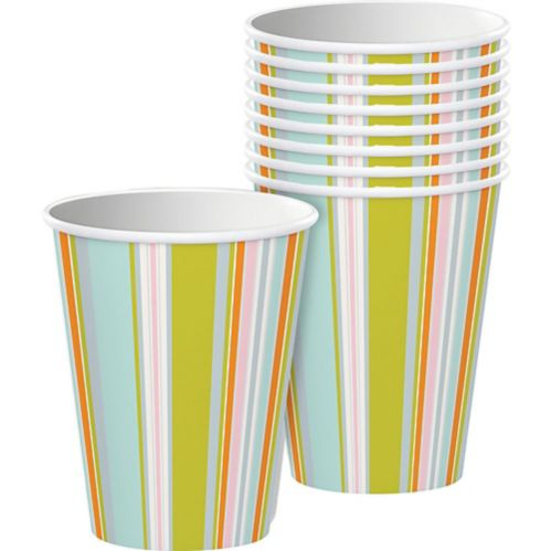 Happy Jungle Disposable Paper Cups, 8-pk