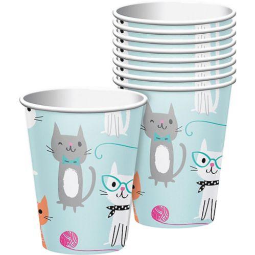 Purrfect Cat Cups, 8-pk