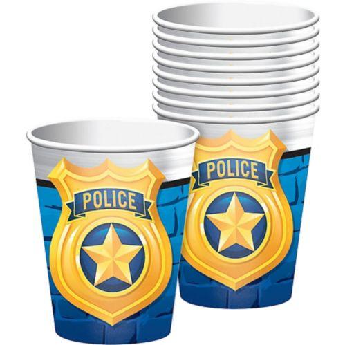 Gobelets, Police festive, paq. 8