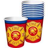 Firefighter Paper Cups, 8-pk