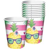 Pineapple Party Cups, 8-pk