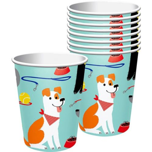 Dog Party Cups, 8-pk