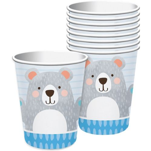 Beary Cute Party Cups, 8-pk