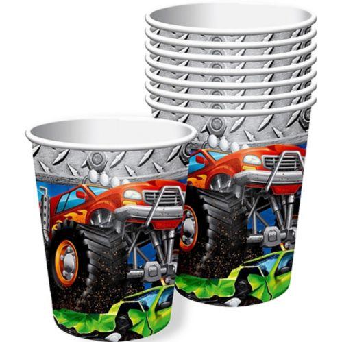 Monster Truck Cups, 8-pk