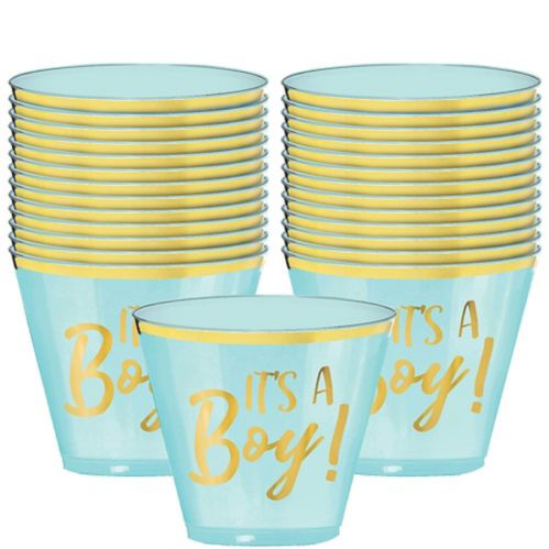 Gobelets en plastique It's A Boy, 9 oz, paq. 30 Image de l'article