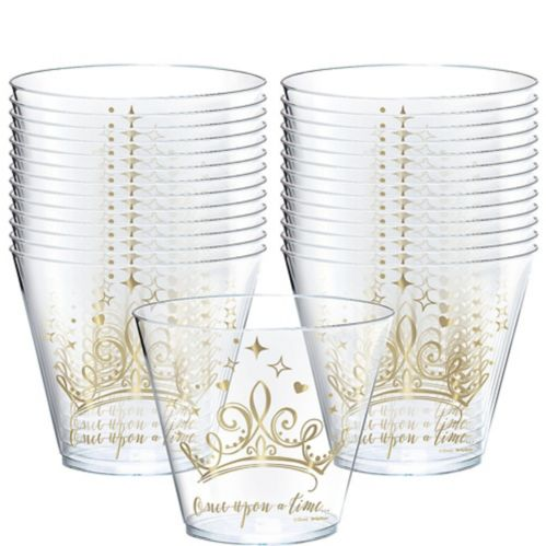 Metallic Disney Once Upon a Time Plastic Cups, 8-pk Product image