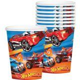 Gobelets Hot Wheels, paq. 8 | Mattelnull