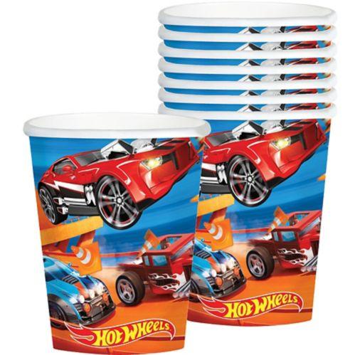 Gobelets Hot Wheels, paq. 8 Image de l'article