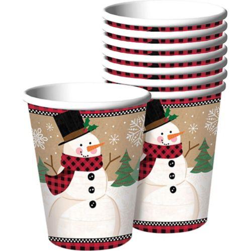 Winter Wonder Snowman Cups, 8-pk Product image