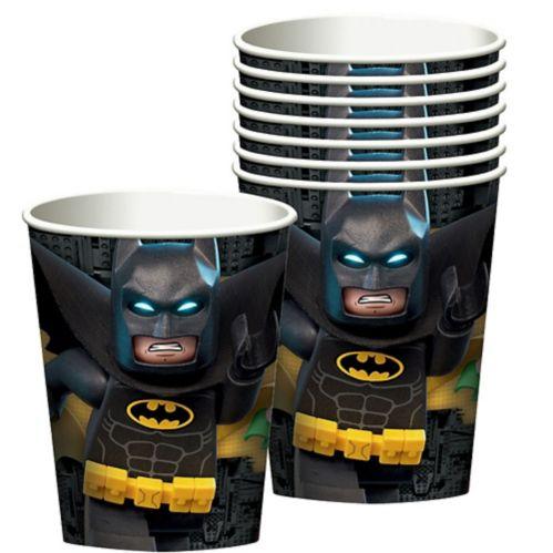 Gobelets, film Lego Batman, paq. 8