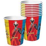 Gobelets Power Rangers Ninja Steel, paq. 8 | Hasbronull